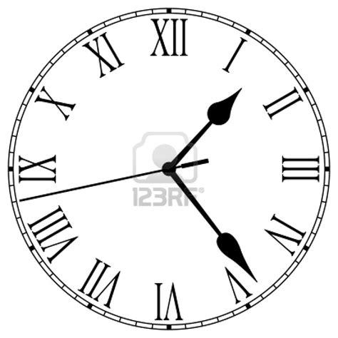 printable clock face roman numerals la historia de los numeros romanos