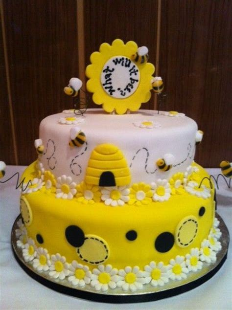 Bumble Bee Cakes For Baby Shower by Bumble Bee Baby Shower Cake Design Bee Themed