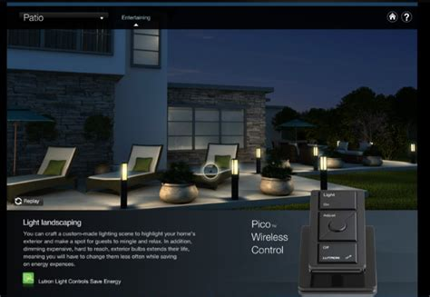 play gourmet lutron home automation