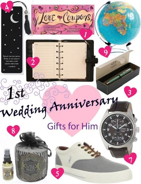 ideas for him paper anniversary gift ideas for him
