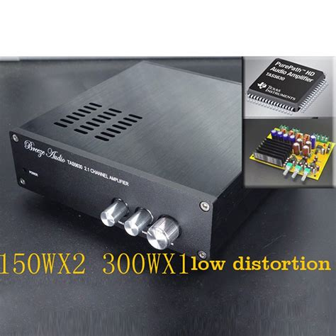 Power Lifier Subwoofer finished tas5630 300w 150wx2 hifi 2 1 audio stereo digital power lifier board subwoofer class