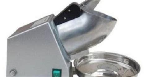 Daftar Freezer Es Batu daftar harga mesin serut es batu listrik terbaru