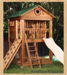 gallery for gt kids outdoor playhouse plans