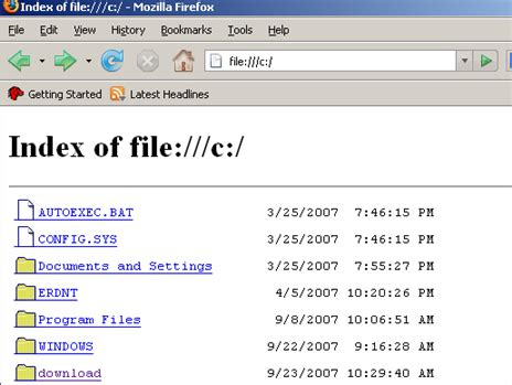 format file url browse and open files on your hard drive using firefox