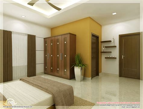 Home Interior Decorators by Beautiful Bedroom Interior Designs Kerala Home Design