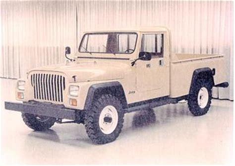 jeep model history jeep pickup history info jeepforum com
