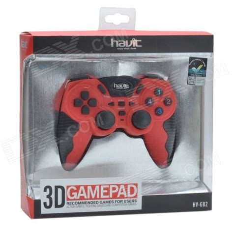 Havit Hv G82 Usb 20 Wired 3d Vibration Gamepad Biru havit hv g82 usb 2 0 wired 3d vibration