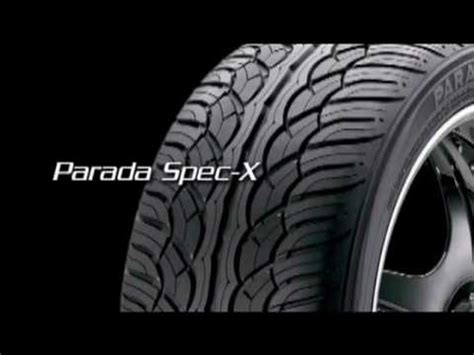 x spec parada spec x tires by yokohama