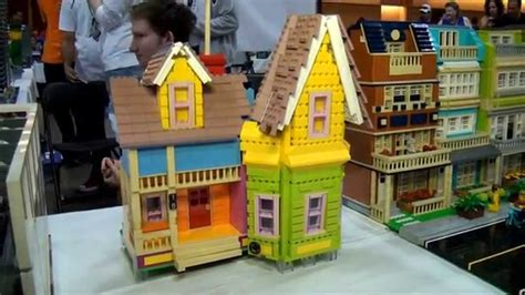 up movie house lego up movie house brickworld chicago 2014 youtube