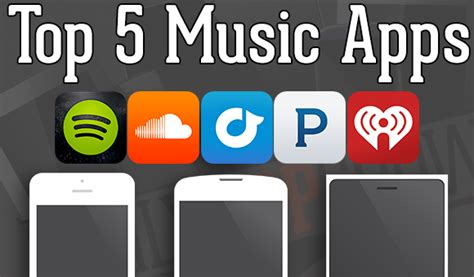 5 great apps for downloading free music on android top 5 music apps spotify rdio pandora soundcloud