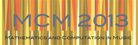 mathematics and computation in 6th international conference mcm 2017 mexico city mexico june 26 29 2017 proceedings lecture notes in computer science books mcm 2013