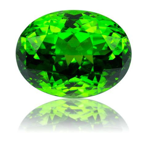 pakistan peridot oval 21 07ct king gems