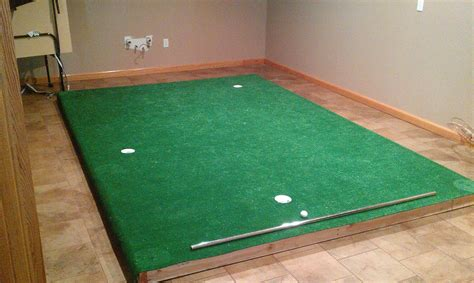 built an indoor putting green golf talk the sand trap com