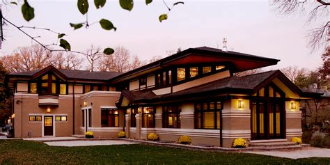 wright style frank lloyd wright prairie houses home design