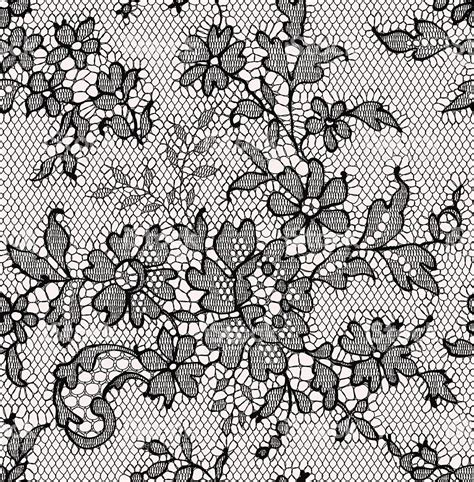 lace seamless pattern vector black lace seamless pattern floral pattern stock vector