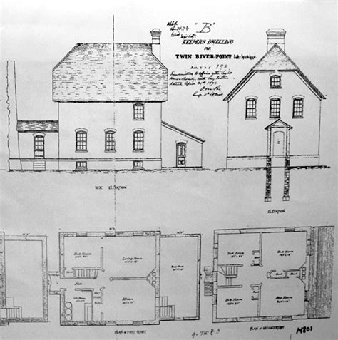 lighthouse floor plans image from http www lighthousefriends rawleypoint