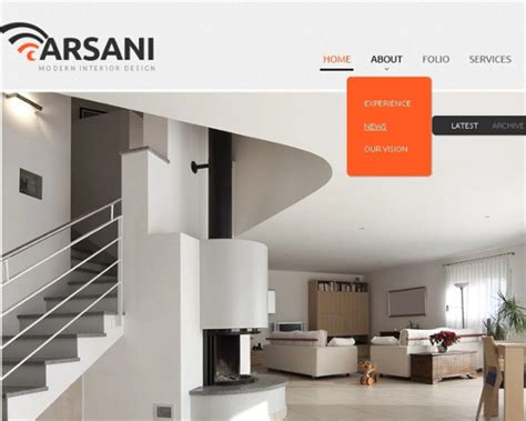 free home interior design website 27 interior design website themes templates free download