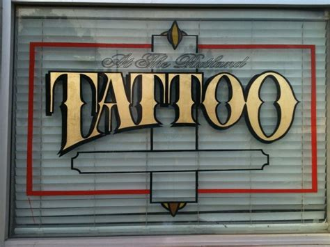 tattoo shop signs 26 best shop signs images on shop signs
