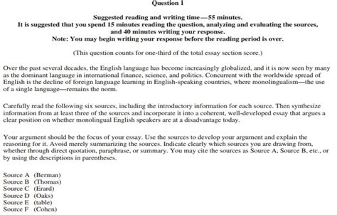 Ap Literature Essay Exles by Ap And Language Essay