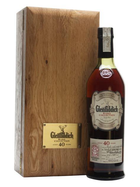 glenfiddich 40 year bot 2008 scotch whisky the