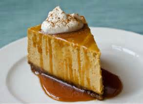 pumpkin cheesecake with gingersnap crust and caramel sauce once upon a chef