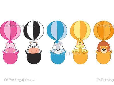imagenes infantiles globos vinilos infantiles animales globos aerost 225 ticos kit