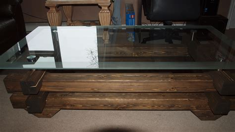 log cabin coffee table canadian home workshop