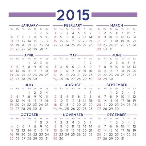 Calendario En Ingles 2015 Calendario 2015 Para Imprimir Gratis Desfaziendo