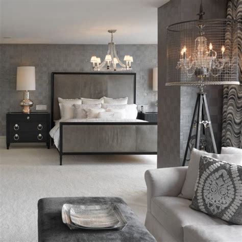 grey wallpaper master bedroom 20 beautiful gray master bedroom design ideas style