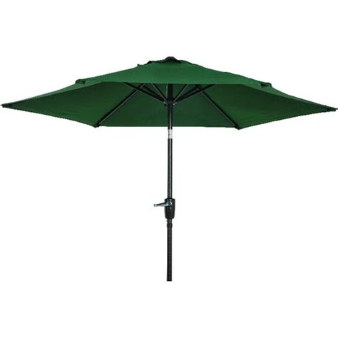 patio umbrella green 7 5 tilt patio umbrella green canopy