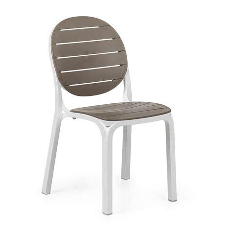sedie esterno sedia per esterni in resina erica nardi