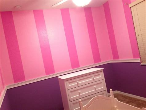 pink and purple bedroom pink stripes w purple walls girls bedroom pinterest