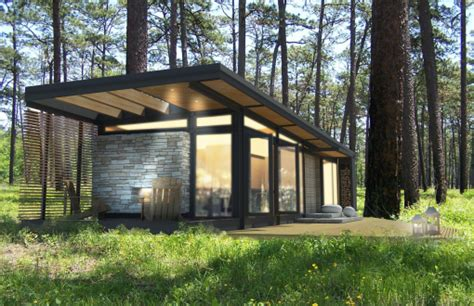 small log cabin houses