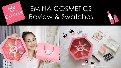 Eyeshadow Emina Review review emina cosmetics around the world review swatches nadya aqilla indonesia