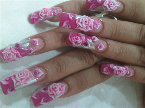 imagenes de uñas decoradas alto relieve stylos jonathan rios alto relieve