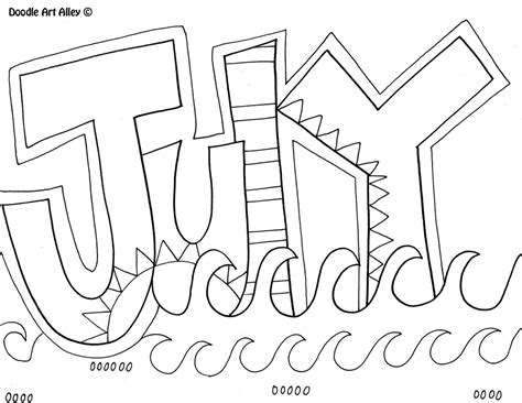 free coloring pages of months of year in