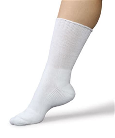 smart knit therasock care sox plus wide socks