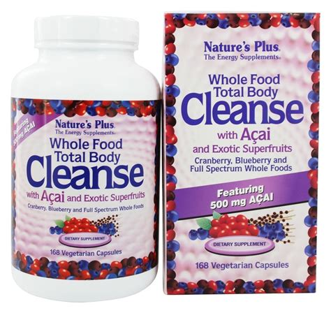 Whole Foods Detox Cleanse Reviews by Buy Nature S Plus Whole Food Total Cleanse With
