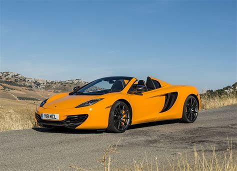 orange mclaren 12c 2014 mclaren mp4 12c spider front photo mclaren orange
