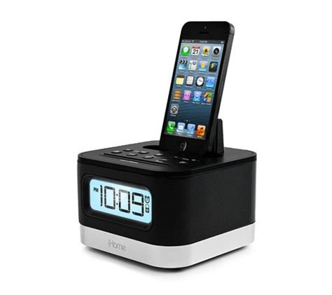 clock radio for iphone 5 6 6 plus ipl10 from ihome