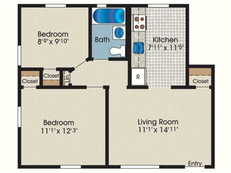 guest house floor plans 2 bedroom sq ft for florida 2018