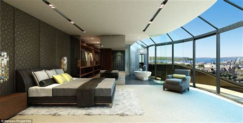 bedroom penthouse australia penthouse overlooking sydney on the market for