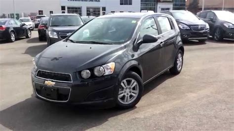 chevrolet sonic lt hatchback new 2014 chevrolet sonic lt hatchback walkthrough 140337