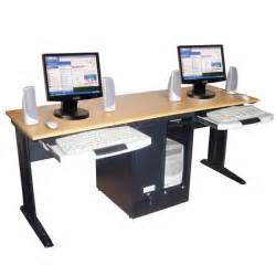 luxor black two person desk 14194986 overstock com