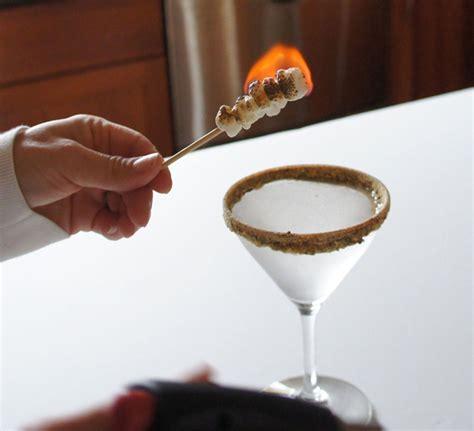 martini smore s more martini