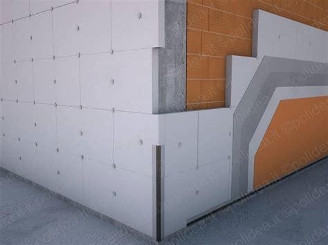 materiali per cappotto termico interno pannelli in polistirolo per cappotto termico pannelli in