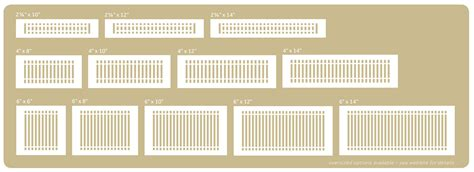 10 X 32 Floor Register - registers buying guide