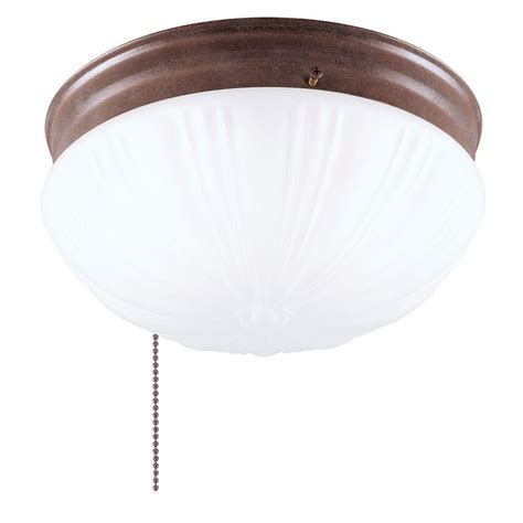 Pull Chain Light Fixture Westinghouse 2 Light Ceiling Fixture Interior Flush Mount With Pull Chain And Frosted