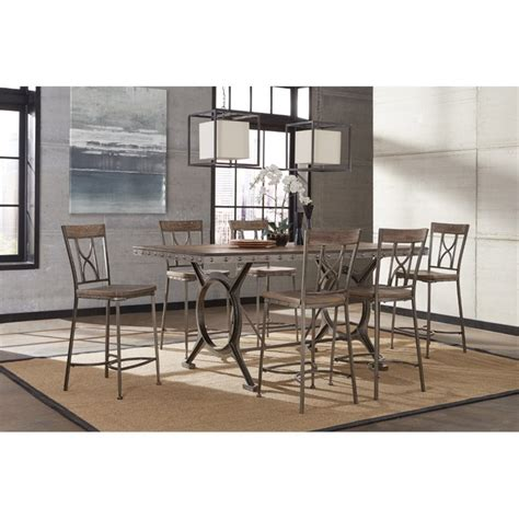 paddock patio furniture hillsdale paddock 7 counter height dining set in