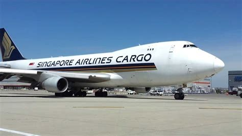 singapore airlines cargo push  taxi  sfm